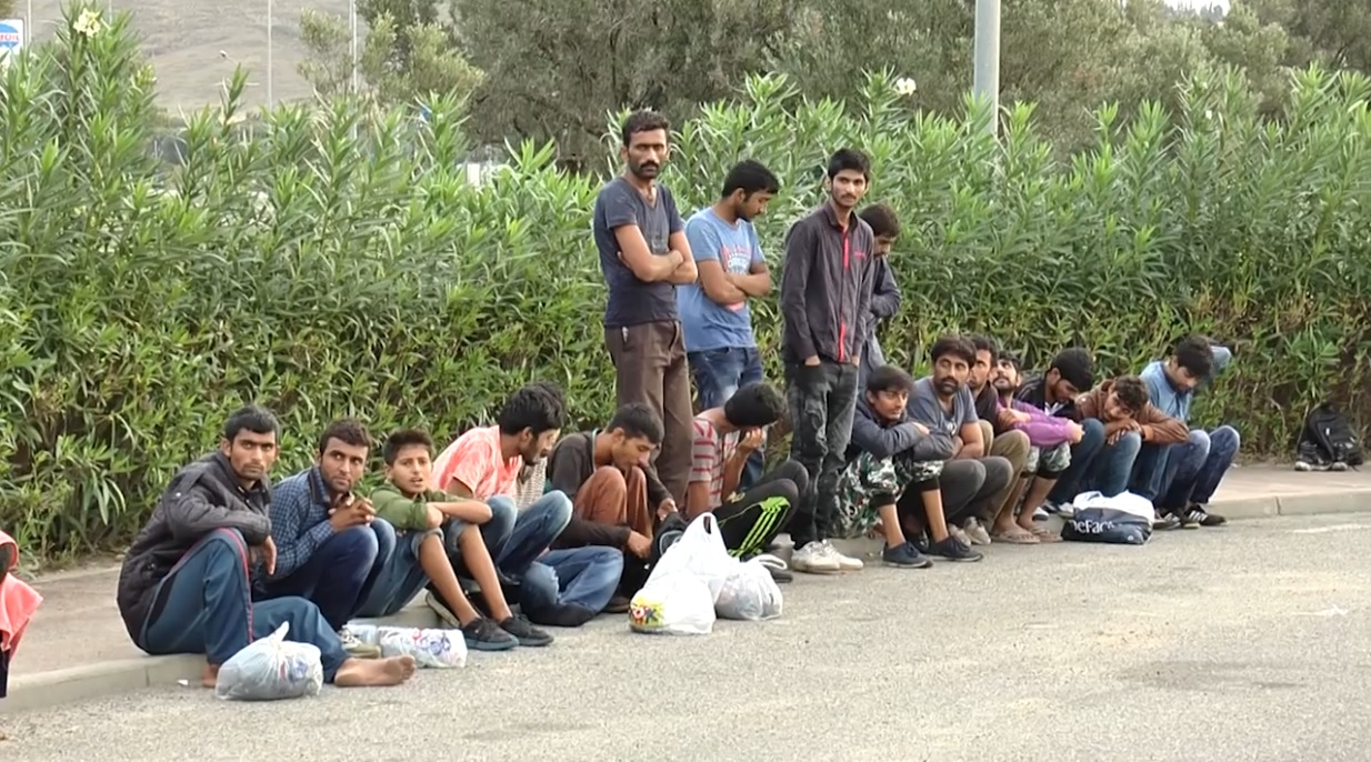 Sbarco profughi a Cz