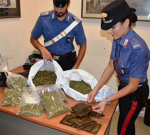 Sequestro marijuana a Roma
