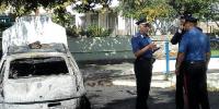 foto satriano auto bruciata