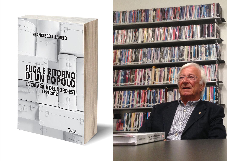 """""""Fuga e ritorno di un popolo"""": il libro di Francesco Filareto approda negli Usa"""