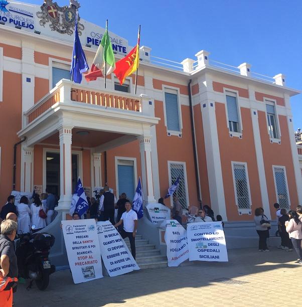 """Messina - Sanità, Fsi-Usae: """"Eliminare gli sprechi non gli ospedali"""""""