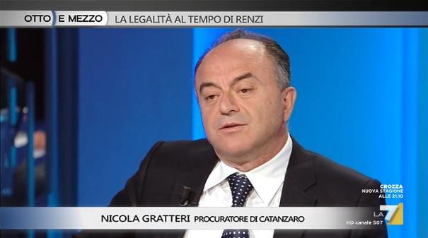Nicola Gratteri a Otto e Mezzo