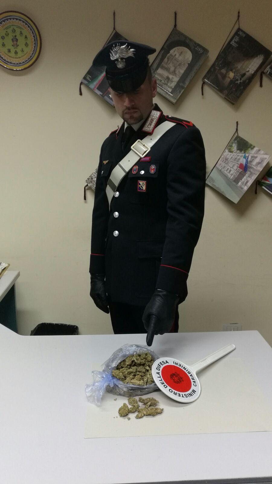 Spaccio di marijuana