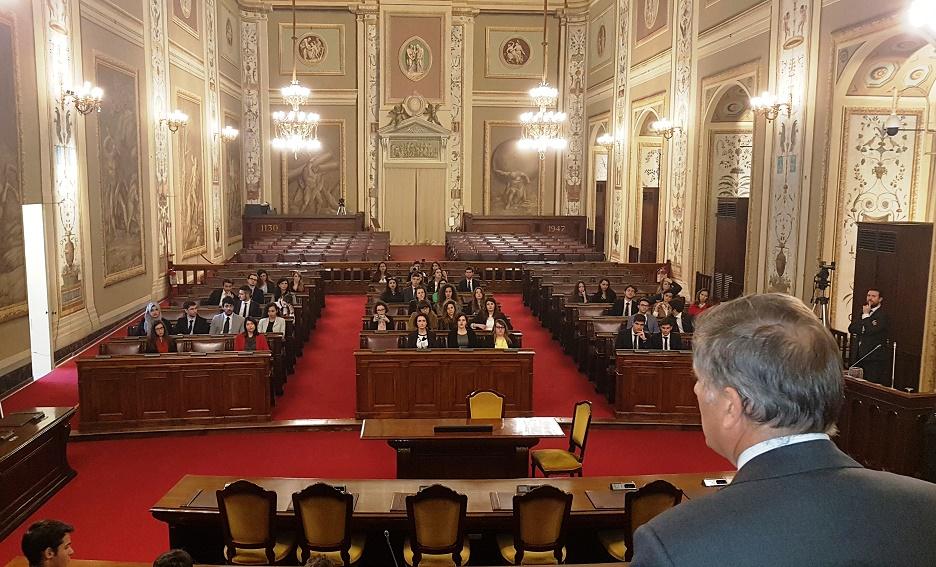 a lezione di diritto parlamentare