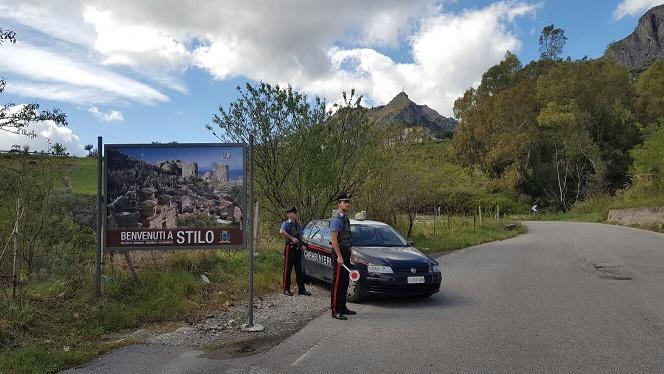 Carabinieri Stilo - Immagini Repertorio