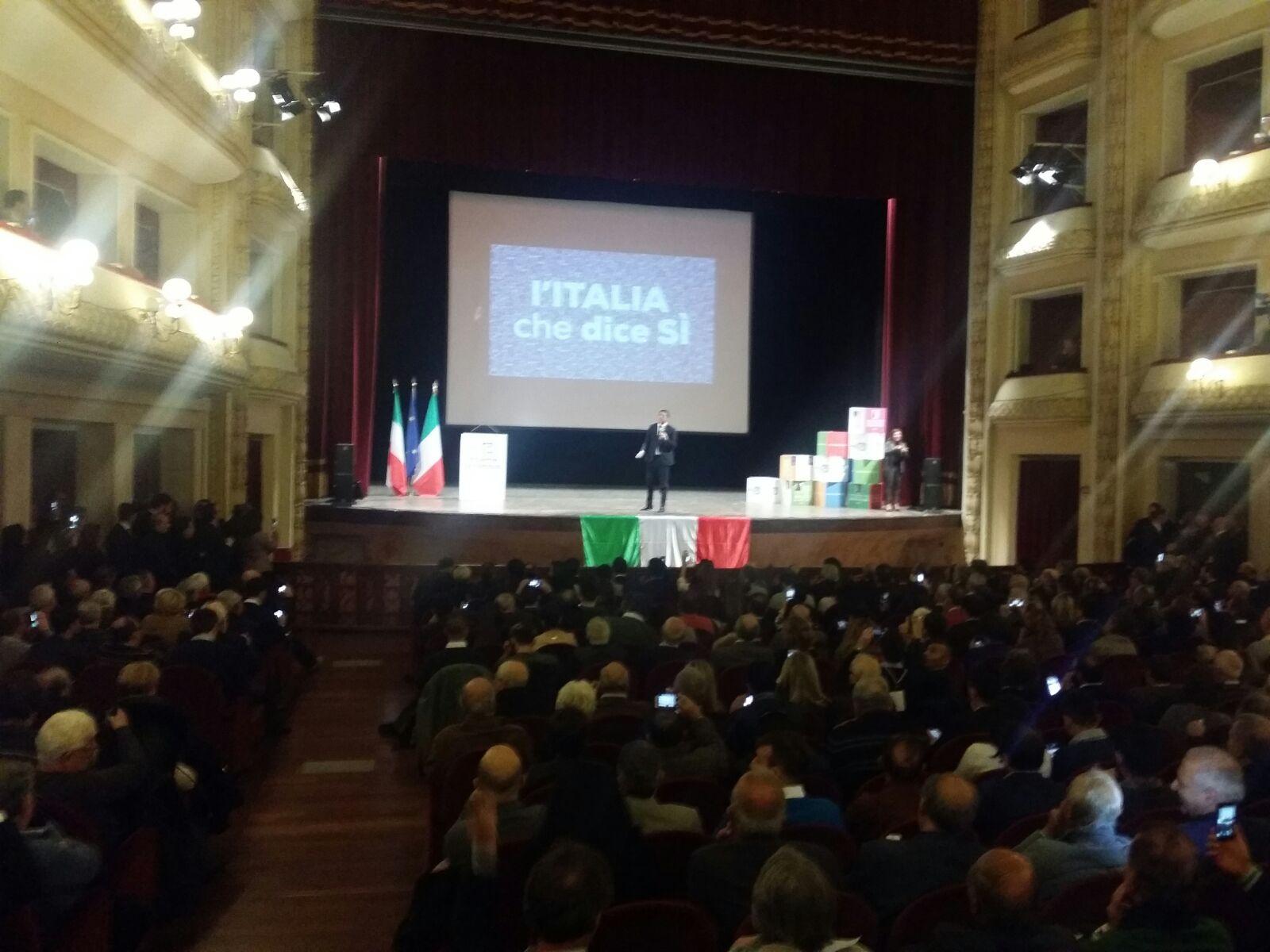 Renzi a Reggio