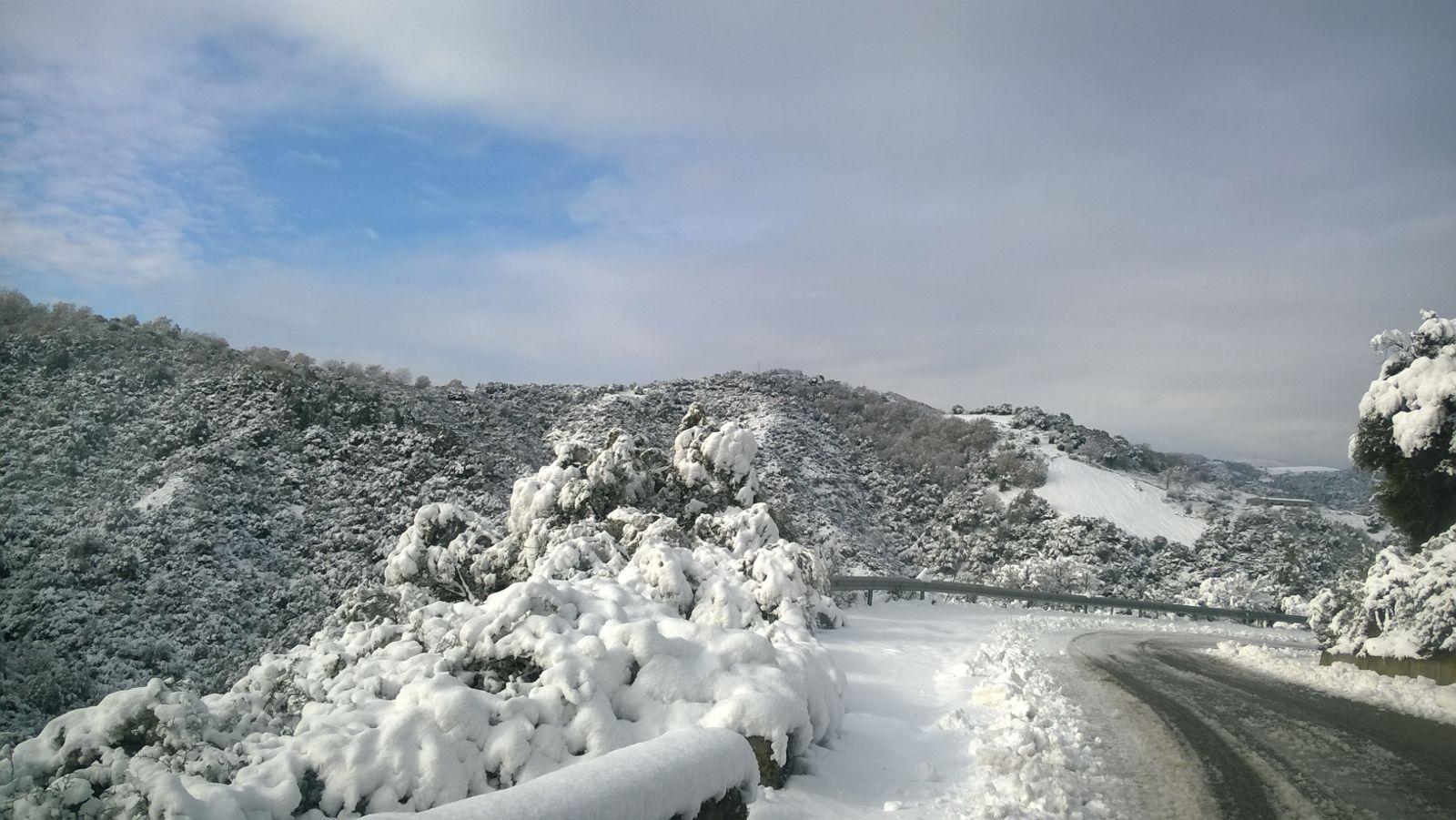 Neve a Umbriatico (KR), scuole chiuse e sale per le strade