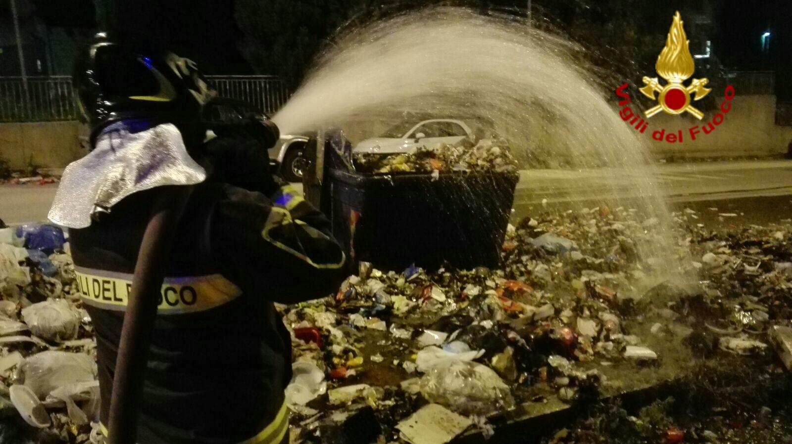 Messina - Capodanno: numerosi interventi del Vigili del fuoco