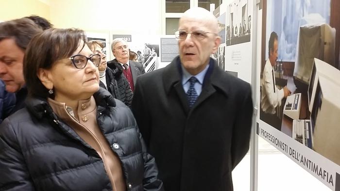 """Inaugurata mostra itinerante Ansa su """"L'eredità di Falcone e Borsellino"""""""