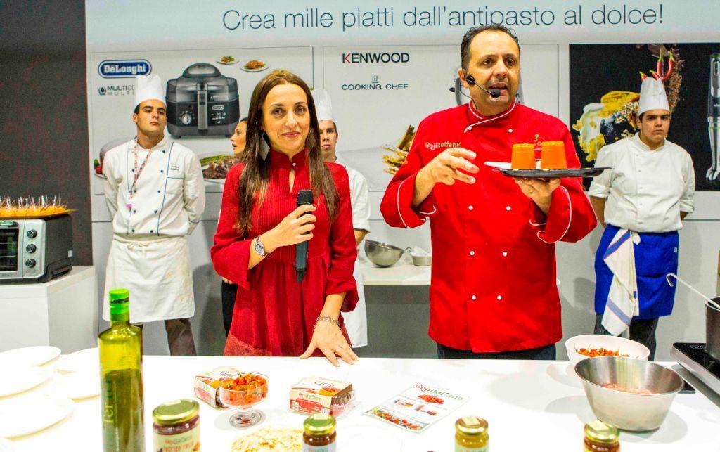 Anna Aloi e lo chef Enzo Cannatà