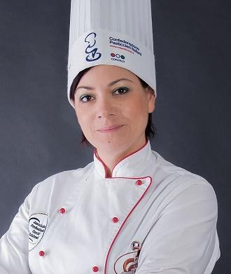 La pastry chef Stella Fiorino