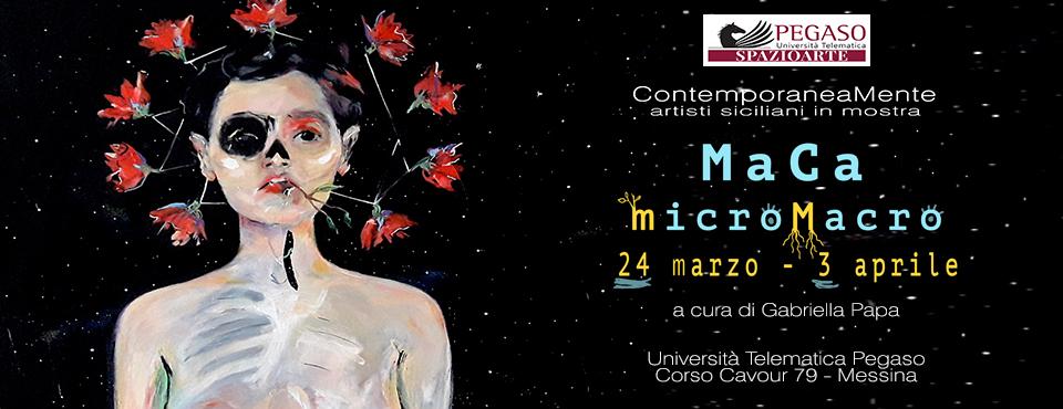 Messina - Pegaso spazio arte: mostra di Manuela Caruso (MaCa)