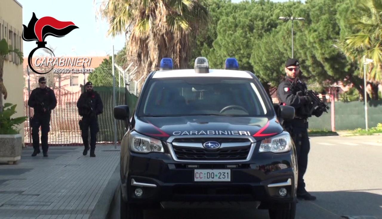 Reggio - Misure antiterrorismo: I Carabinieri in pattuglia su tutta la città (FOTO)