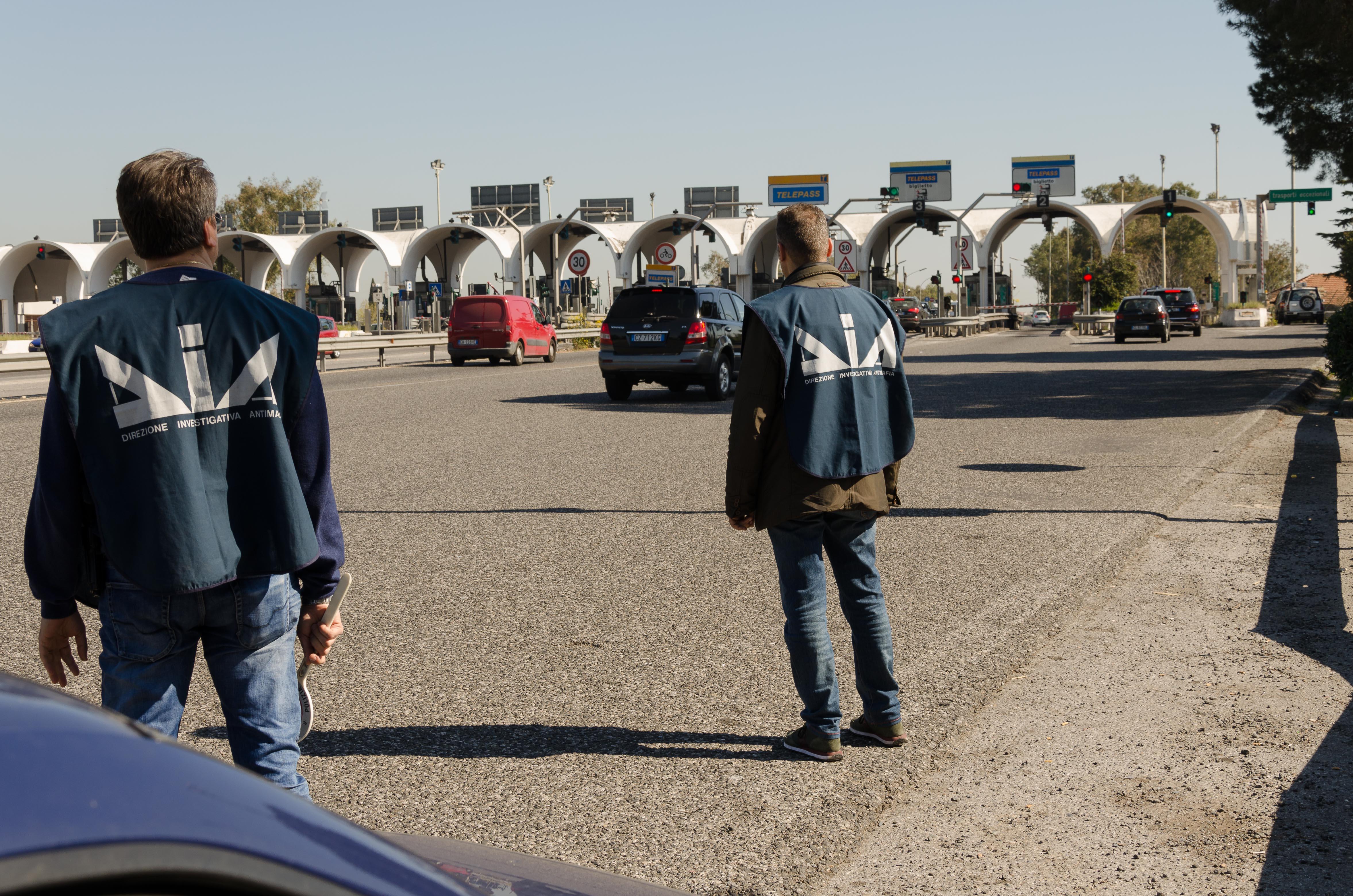 Blitz dia consorzio autostrade siciliane