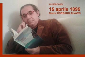 Il 15 apre del 1895 nasceva Corrado Alvaro