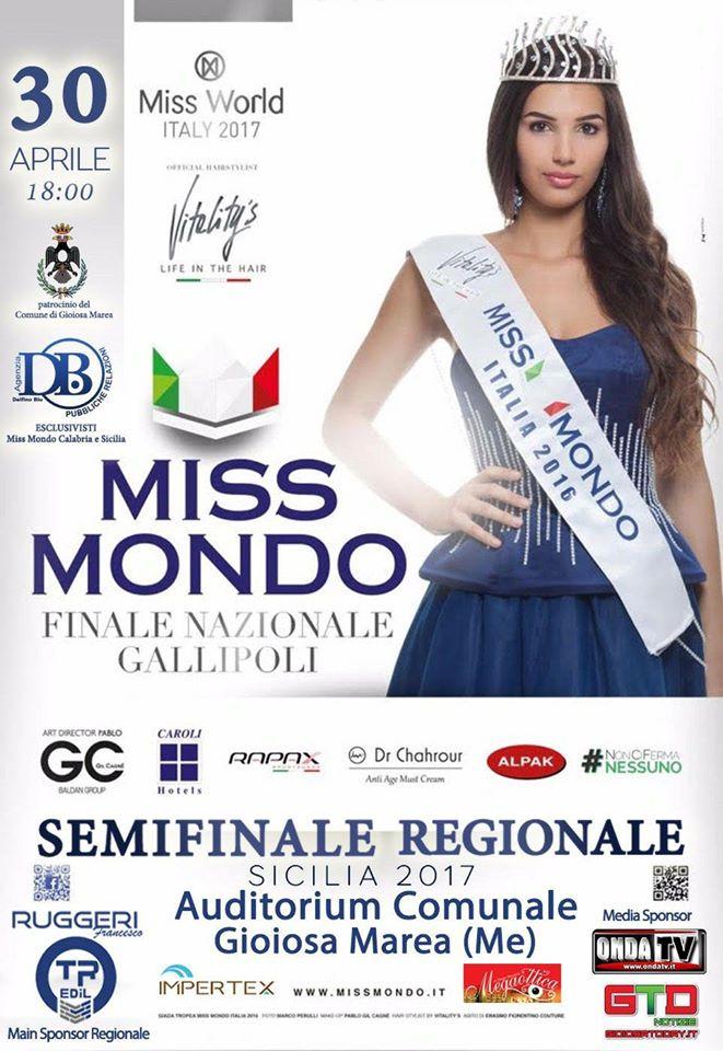 Locandina Semifinale Sicilia
