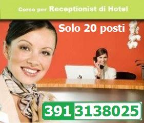Reggio – Corso per receptionist di hotel 149 euro, solo 20 posti