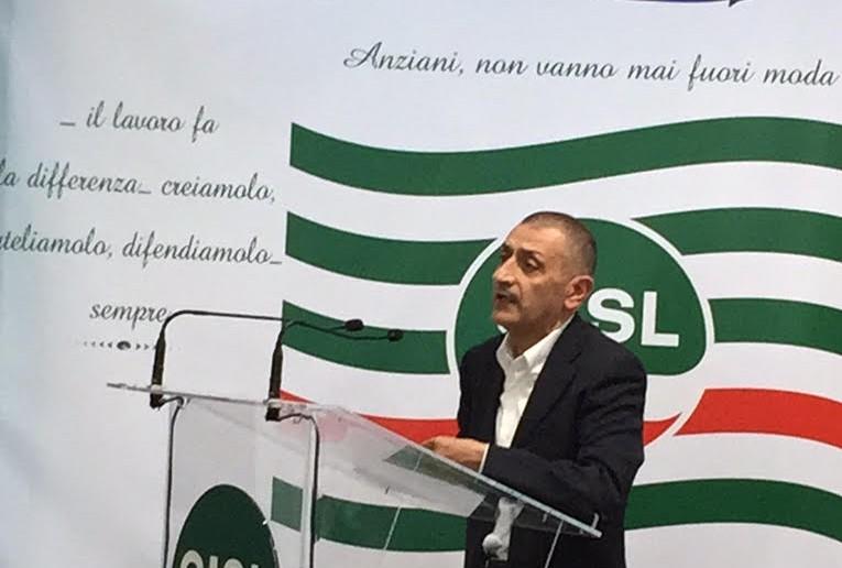 Lavoro e legge di stabilità, manifestazione della Cisl a Pizzo