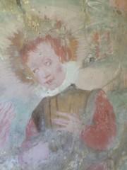 Ccoperte strutture murarie ed affreschi ad Oriolo, forse del '400