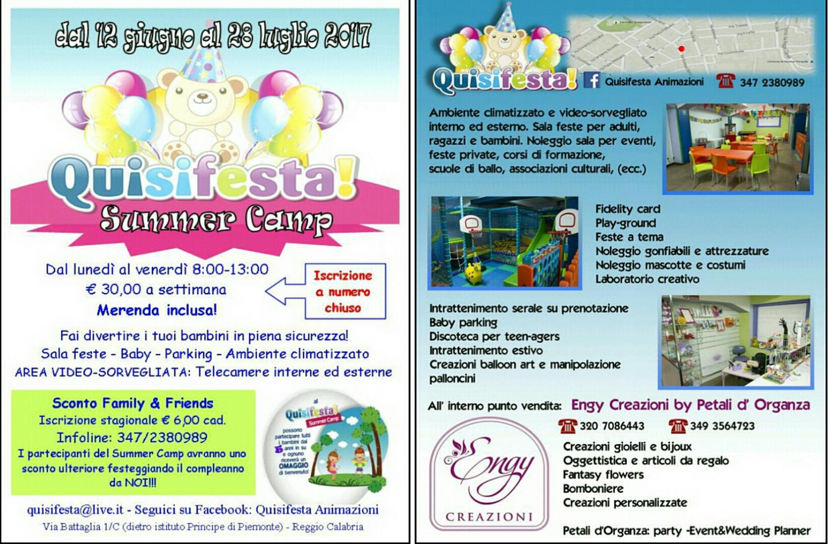 Reggio: Quisifesta Animazioni, la tua festa tutto incluso a soli 100 euro