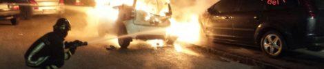 Catanzaro, incendiate 3 auto