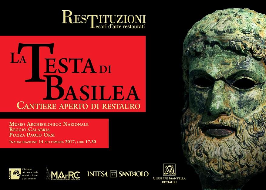 Reggio Calabria - MArRC: apre il cantiere di restauro della Testa di Basilea