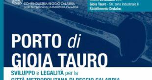 Gioia Tauro: lunedì assemblea pubblica di Confindustria Reggio Calabria