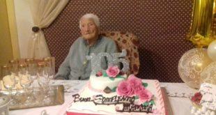 Nonna Maria Crucitti compie 105 anni 2