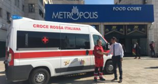 Nuova ambulanza della Croce Rossa