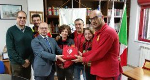 Parco Aspromonte dona defibrillatore a Soccorso Alpino Calabria