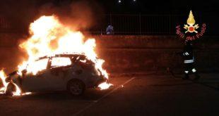 Ancora fiamme nella pineta di Siano a Catanzaro