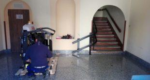 Chiaravalle Centrale, a Palazzo Staglianò via le barriere per disabili
