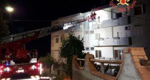Catanzaro, incendiata una casa in località Santa Domenica