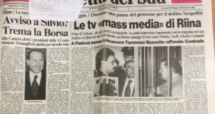 Memorie | Totò Riina imputato a Reggio Calabria nel processo Scopelliti