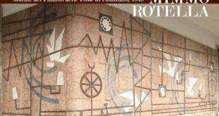 inaugurazione del Mural di Mimmo Rotella