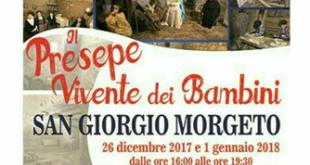 A San Giorgio Morgeto il presepe vivente dei bambini