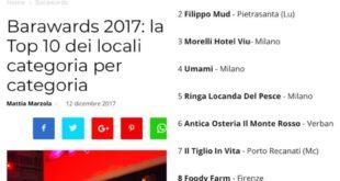 Ristorante di Pizzo tra i dieci migliori di Italia