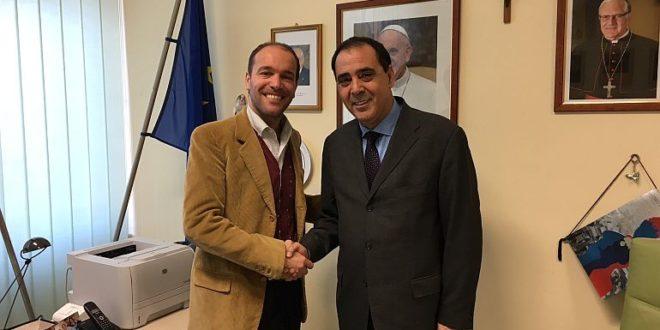 Messina, il Commissario Calanna in visita al Conservatorio Arcangelo Corelli
