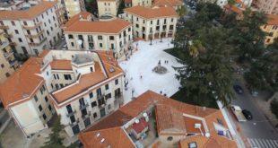 Cosenza, inaugurazione nuova piazza XXV Luglio e presepe piazza Bilotti