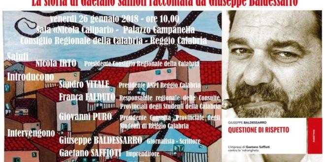 Reggio Calabria, la storia di Gaetano Saffioti raccontata agli studenti