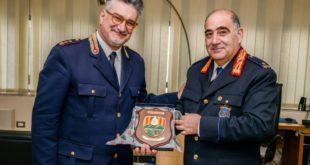 Catanzaro, il comandante Lombardo visita il comando di Polizia municipale