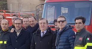 San Giovanni in Fiore, aperto il nuovo distaccamento permanente dei Vigili del Fuoco