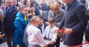 Inaugurata la palestra della Scuola B.Telesio nel quartiere Modena - Ciccarello