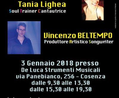 stage di canto con i coach Testa e Lighea