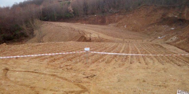 Movimento terra non autorizzato, sequestrato terreno di 3mila mq