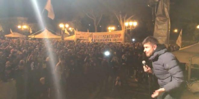 """Di Battista a Locri: """"Da Berlusconi mercato vacche preventivo"""""""