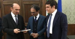 Catanzaro, visita dell'ambasciatore Azero in città