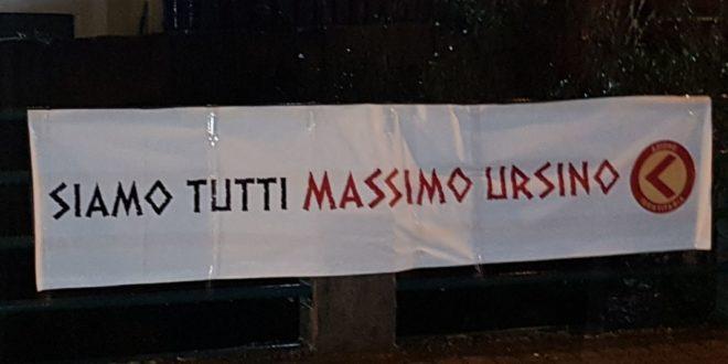"""Lamezia Terme, Azione identitaria: """"Solidarietà a Massimo Ursino"""""""