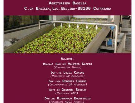 locandina convegno olivicoltura a CZ