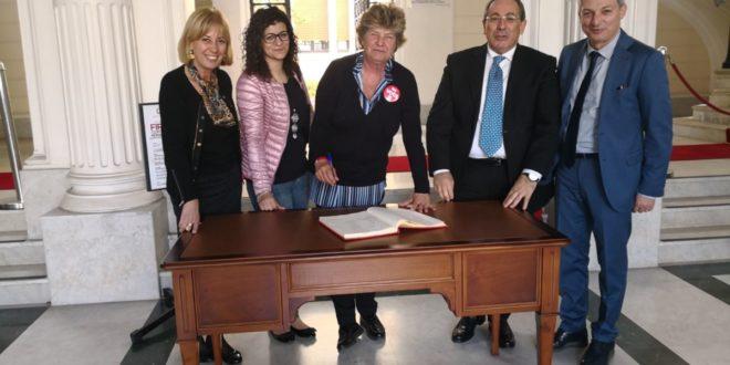 Susanna Camusso a Reggio Calabria incontra il Prefetto